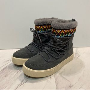 Toms Alpine Gray Boots